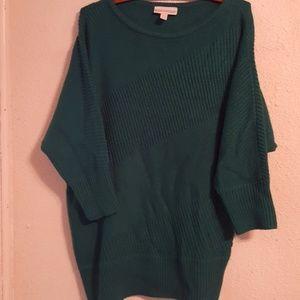 Dana Buchman 3/4 sleeve sweater